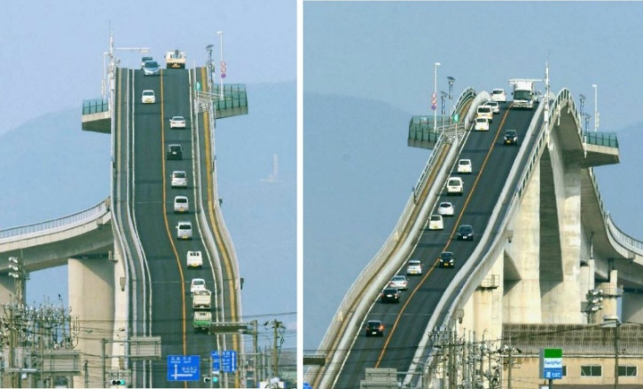 8 of the craziest bridges in the world. Black Bedroom Furniture Sets. Home Design Ideas