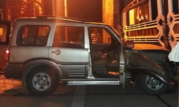 Pakistan SUV crash