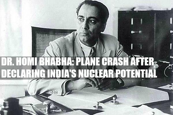 homi bhabha death Bhabha