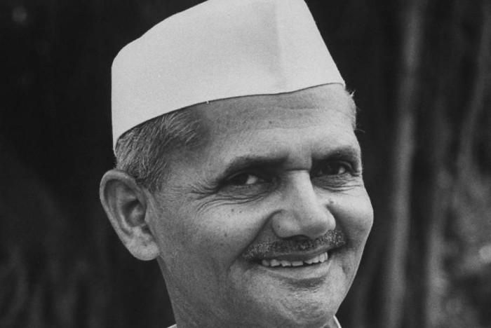 My favorite leader lal bahadur shastri