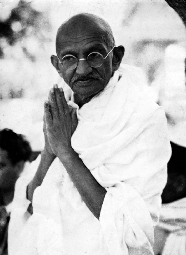 Mahatma Gandhi Praying