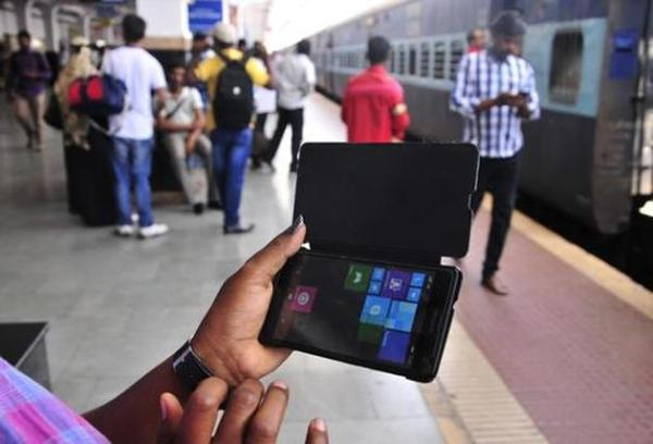 Image result for images of wi fi at indian railway stations