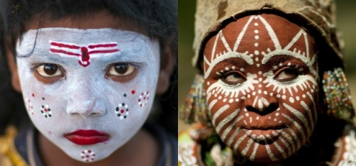 12 Photos That Show Just How Beautiful The Art Of Tribal Make-Up Is