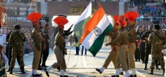 A 350-Foot-Tall Tri-Colour To Be Erected At Wagah Border, Will Be Visible All The Way From Lahore!