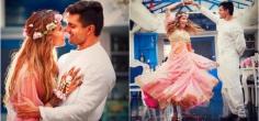 Bipasha Basu & Karan Singh Grover Share Adorable Pictures Of Their Pre-Wedding Ceremonies!