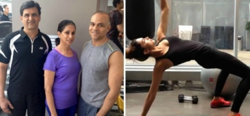 Deepika Padukone And Her Parents Work Out Together In Toronto, Give Us Major #FitnessGoals