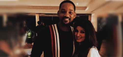 Mrs Funnybones Twinkle Khanna Fan Girls Over Will Smith, Gushes About Her Epic Meeting With Him!