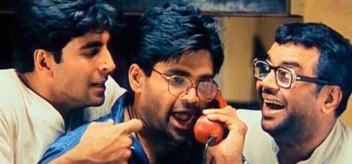 Akshay Kumar's Reaction To Paresh Rawal-Suniel Shetty's Mini Hera-Pheri Reunion Is Epic!