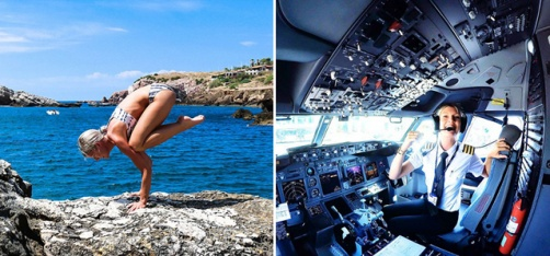 Meet Maria Pettersson - The Swedish Pilot Who's Winning Hearts By Doing Yoga Around The World