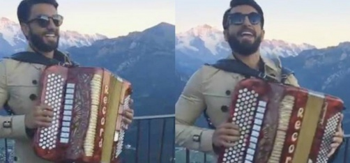 Ranveer Singh Sang 'Pardesi Pardesi' For Tourists In Switzerland & Confused The Hell Outta Them!