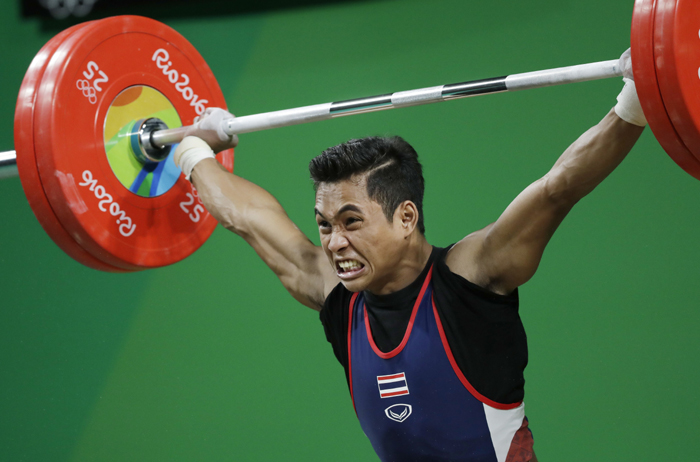 Thai weightlifter