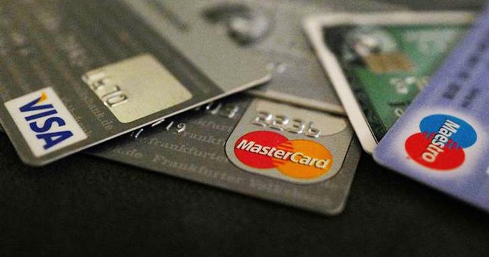 Master card, Visa