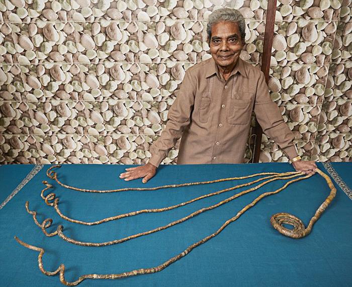 Книга рекордов гиннеса самые длинный человек в мире