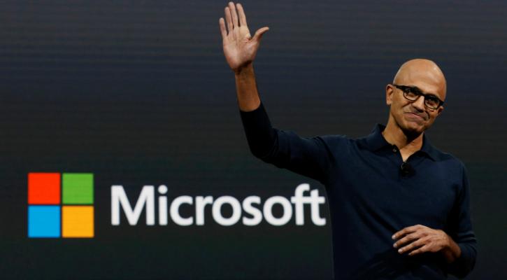 Microsoft 1 trillion dollar company