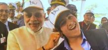 That Epic Moment When Narendra Modi Got Playful With Akshay Kumar's Son Aarav!