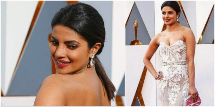 priyanka at oscars