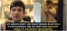KRK's Take On Sonu Nigam & His Mid-Air Impromptu Gig Is So Mean That It's Actually Entertaining!