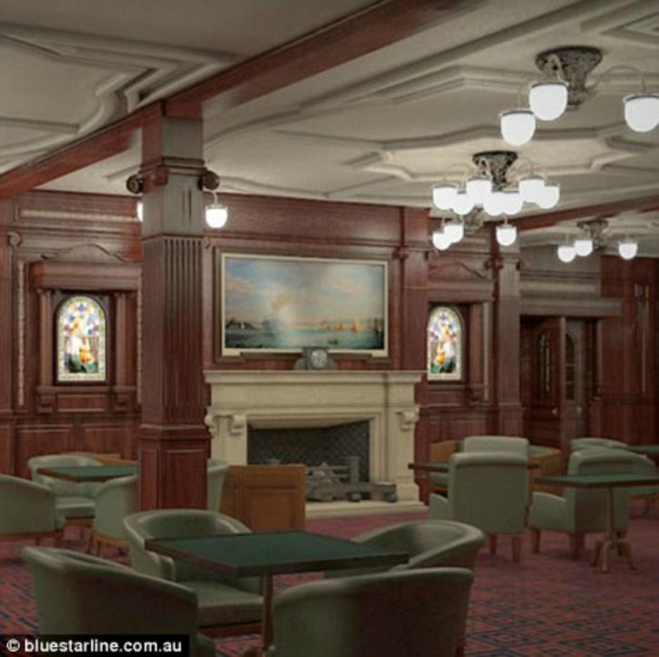 titanic II dining