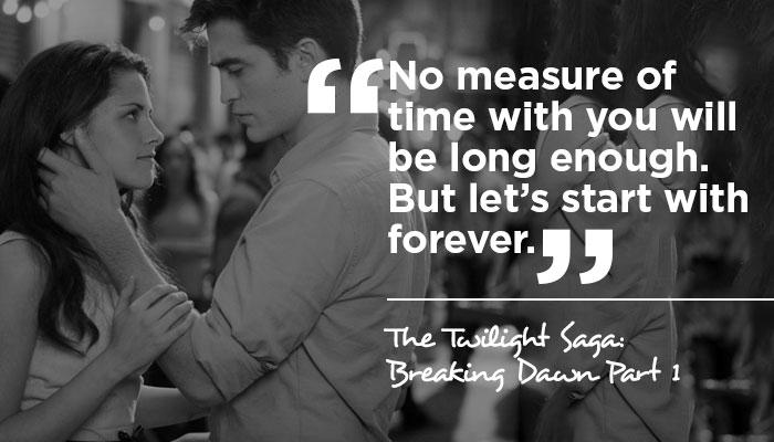 love quotes in twilight movie twilight love quotes