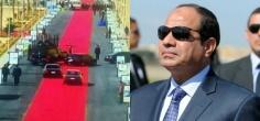 Egypt President Takes A Drive On A 4-Kilometre-Long Welcome Carpet, Speaks Of Austerity