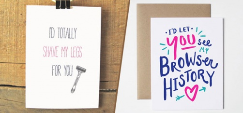 These Valentine Cards For Unromantic People Are Truly Wicked!