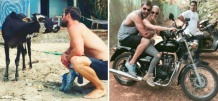 Whoa! Chris 'Thor' Hemsworth Is In India And He's All Set To Climb The Himalyas With His Wife