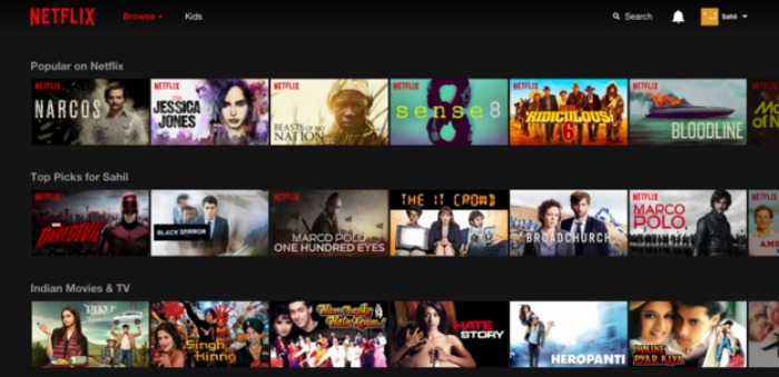 how to get the first month free on netflix