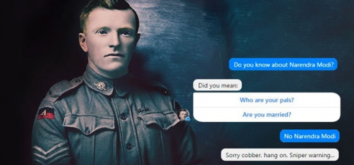 We Decided To Have A Chat With FB's New World War 1 Robot And It Didn't Go Exactly As Planned