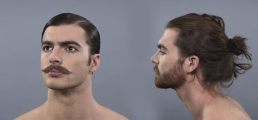 Captivating Video Shows How Men's Beauty Standards Have Evolved Over The Last 100 Years