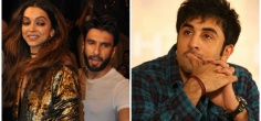 After Partying Together, Ranveer Took A Subtle Jibe At Ranbir & Yes, It's Related To Deepika!