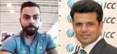 Virat Kohli Crosses Borders, Sends Out A Warm Message To Pakistani Umpire Aleem Dar's Son