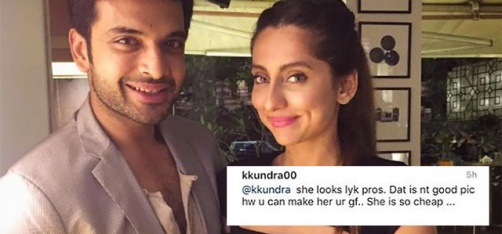 Karan Kundra Slams A Female Troll For Calling Girlfriend Anusha Dandekar A 'Prostitute'!