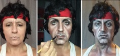 Meet Lucia Pittalis, Who Transforms Into Johnny Depp, Queen Elizabeth, And More Using Makeup