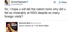 Kejriwal Mocks Modi For Failing 'So Miserably At NSG', Gets Trolled Hilariously On Twitter