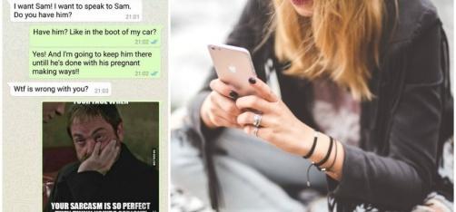 Girl Announces Pregnancy To Wrong Person, Hilarious Conversation Follows