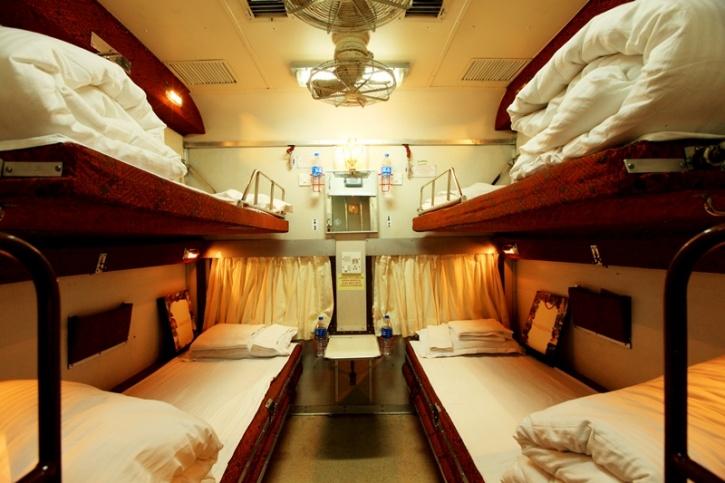 Irctc S Beautiful Semi Luxury Tiger Express Will Make You