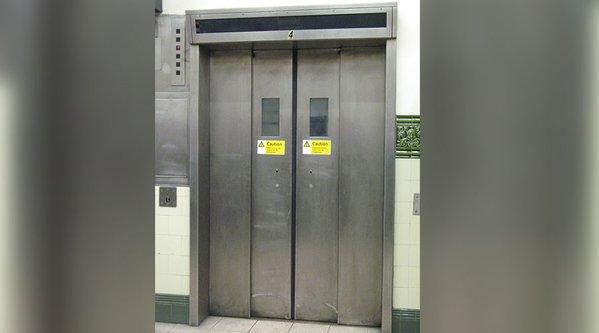 Chinese Woman elevator 2