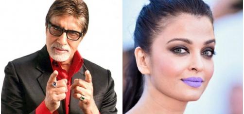 Days After The Purple Lips Debate, Big B Gives His Take On Aishwarya's Bold Fashion Statement!