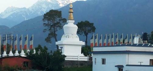 This Buddhist Stupa In Himachal Pradesh Is Dedicated To Veteran Actor Kabir Bedi's Mom!