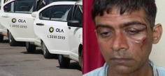 6 African Men And Women Beat Up Ola Driver, Smash His Face With A Steel Knuckle