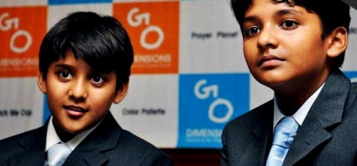 Meet Brothers Shravan (12) And Sanjay Kumaran (10) - The Youngest CEOs In India