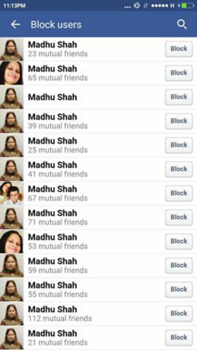 madhu shah facebook