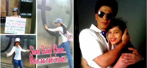 A Fan From Indonesia Kept Tweeting To SRK Till He Actually Met Her. Yes, Dreams Do Come True!