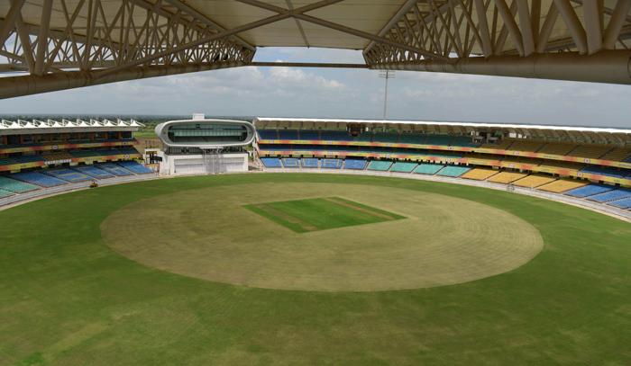 SCA Stadium in Rajkot