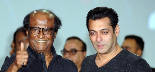 Whoa! After Akshay Kumar, Rajinikanth Might Team Up With Salman Khan For A Film!