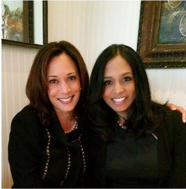 The Gallery For Gt Kamala Harris Sister Maya