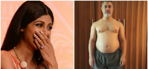 Shilpa Shetty Admits Not Reading Animal Farm, Aamir's 'Fat To Fit' Transformation For Dangal And More From Ent