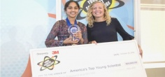 13 YO Indian-American Maanasa Mendu Wins America's Top Young Scientist, Awarded With Rs.16 Lacs