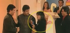 This Video Of A 12 YO Sonakshi Sinha Giving Away An Award To Karan Johar Is Winning The Internet Today