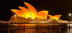 Sydney Opera House Turned Golden In Celebration Of The Festival Of Lights, Diwali